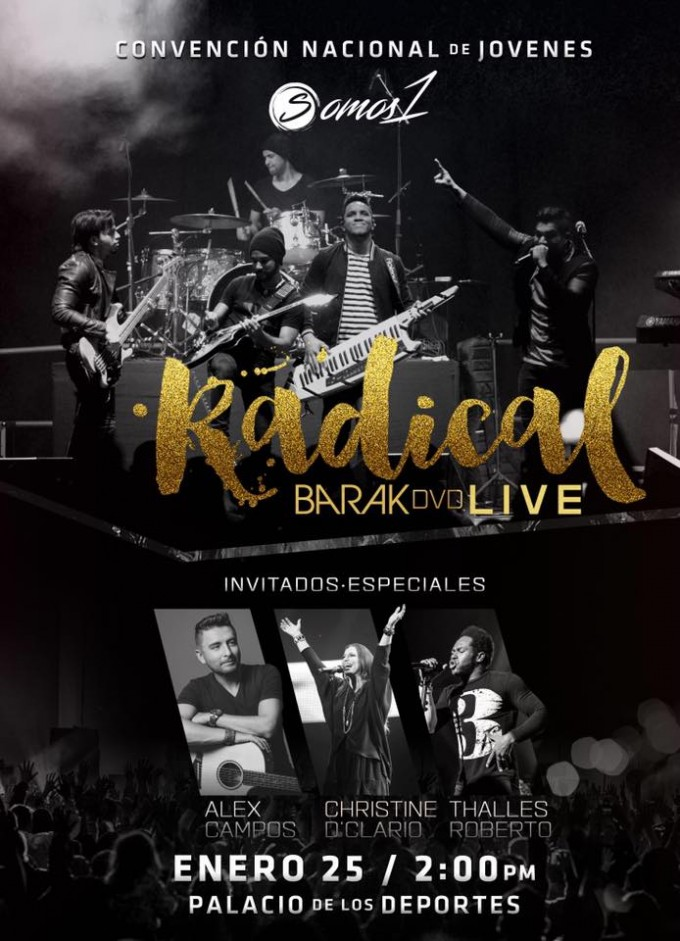 BARAK CD/DVD LIVE  -ÁLBUM RADICAL-